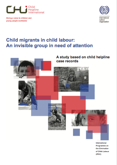 Child migrants in child labour: An invisible group in need of attention. A study based on child helpline case records