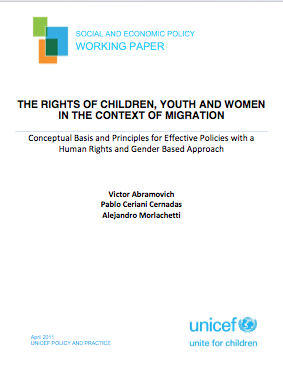 The Rights of Children, Youth and Women in the Context of Migration