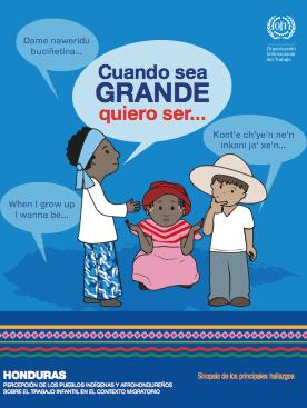 Honduras. Percepción de los pueblos indígenas y afrohondureños sobre el trabajo infantil en el contexto migratorio
